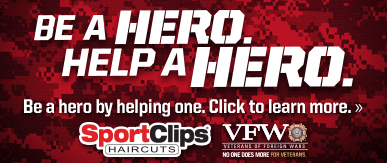 Sport Clips Fort Smith​ Help a Hero Campaign